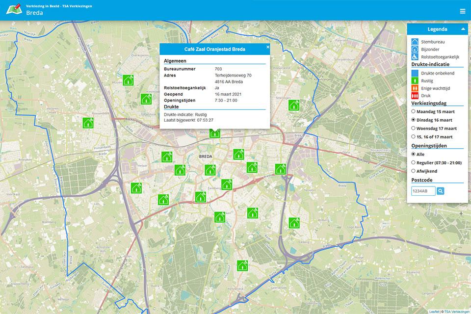 TSA Group Delft bv - screenshot 2021 verkiezinginbeeld.nl