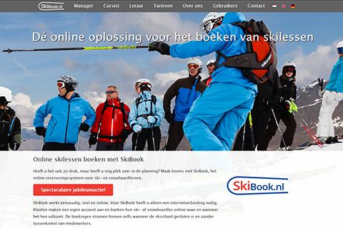 TSA Group Delft bv - Skibook screenshot website